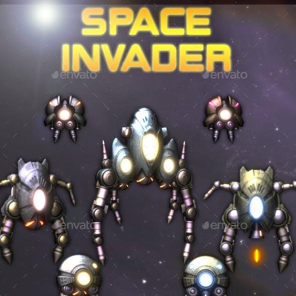 Space Invader Pack
