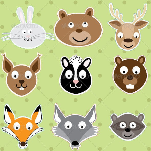 Animals - Vector Illustration