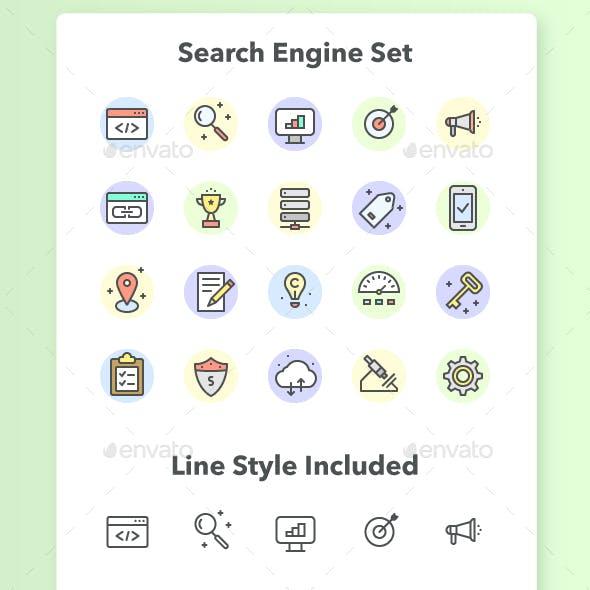 SEO - Search Engine Optimization Set