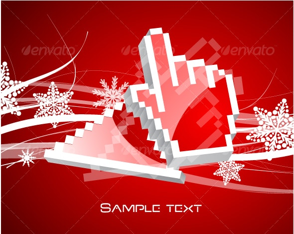 Christmas and Technology - Characters Vectors
