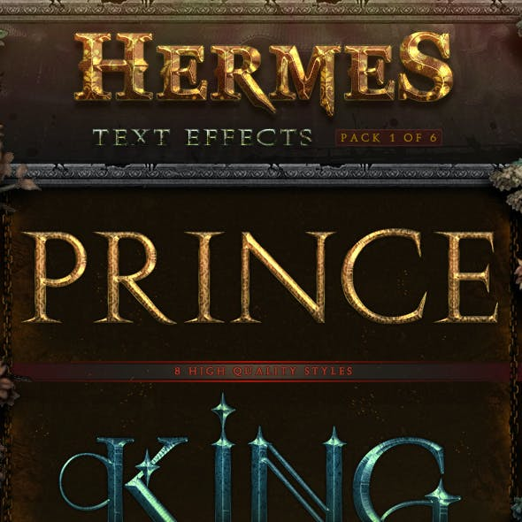 Hermes Text Effects - Pack 1 -