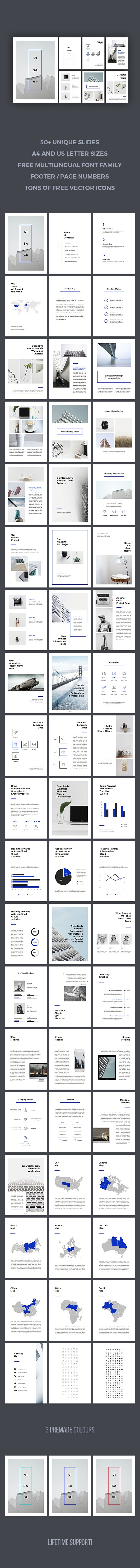 Visage PowerPoint Template - PowerPoint Templates Presentation Templates