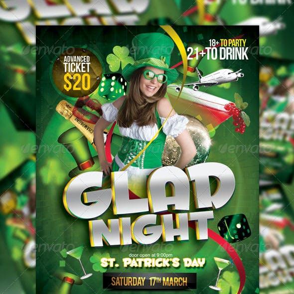St Patrick's Night Party Flyer Vol_1