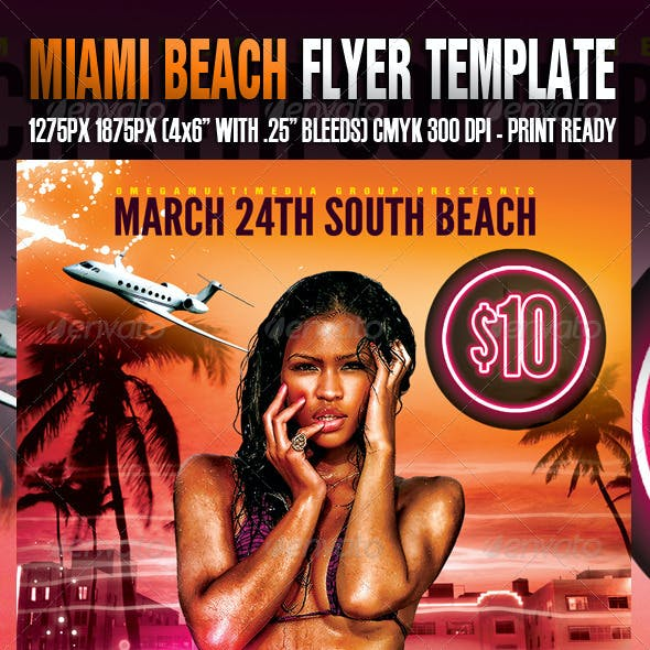 Miami Spring Fling Template