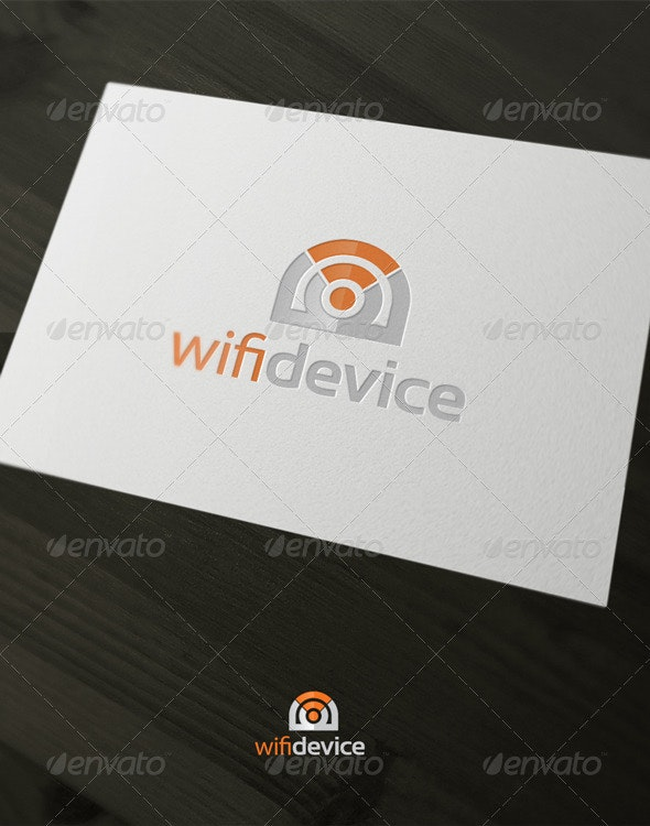 Wifi Device - Vector Abstract