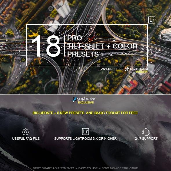 18 Pro Tilt-Shift Presets