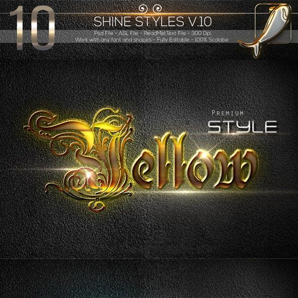 10 Shine Styles V.10A