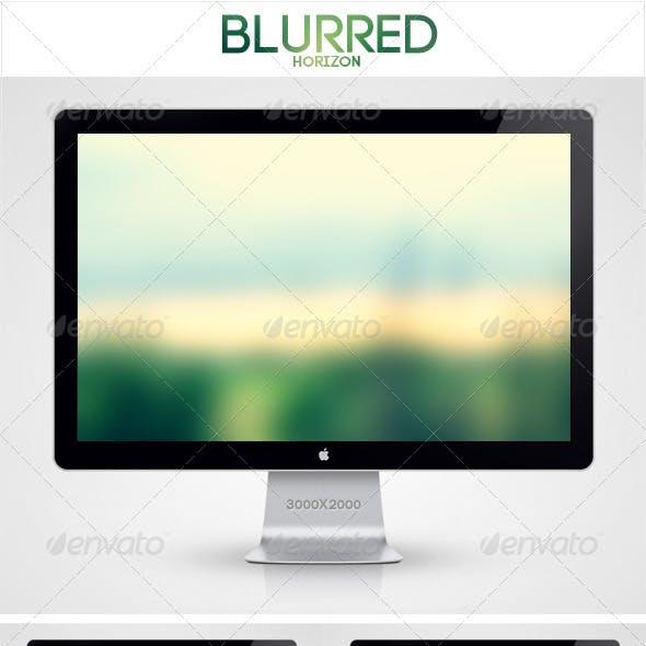 Blurred Horizon Background