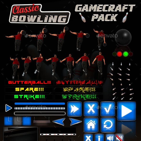 Classic Bowling - Game Assets