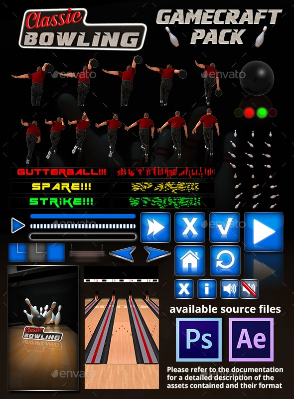 Classic Bowling - Game Assets - Game Kits Game Assets