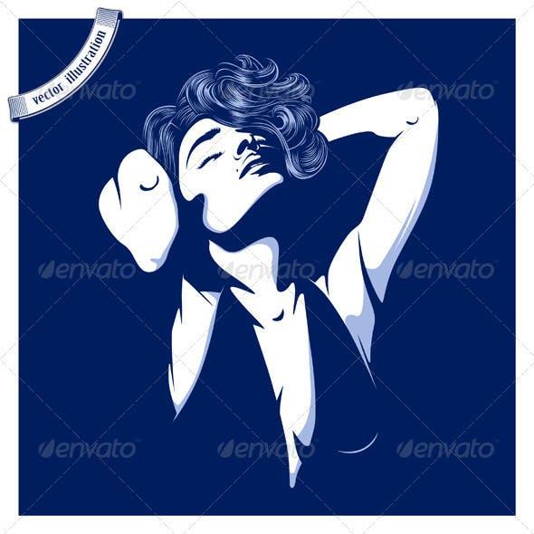 Shadow Sexy Girl