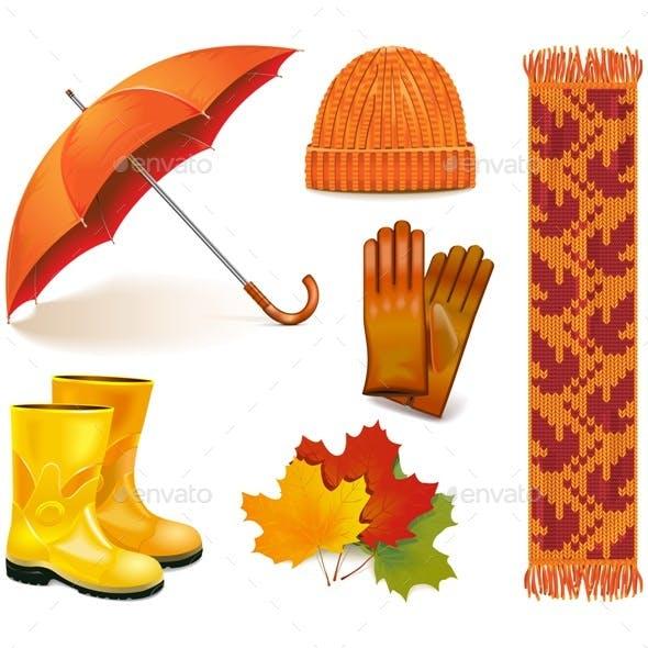 Vector Autumn Icons