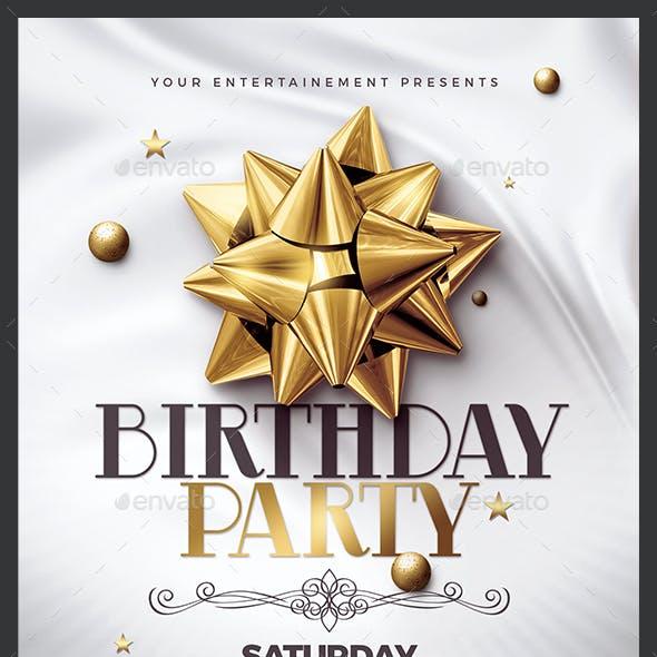 Birthday Party | 3 Psd Flyer Templates