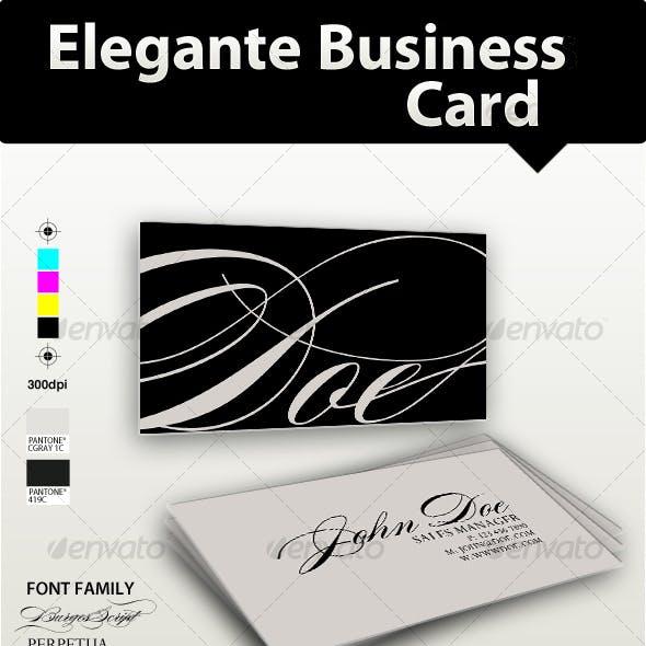 Elegante Business Card