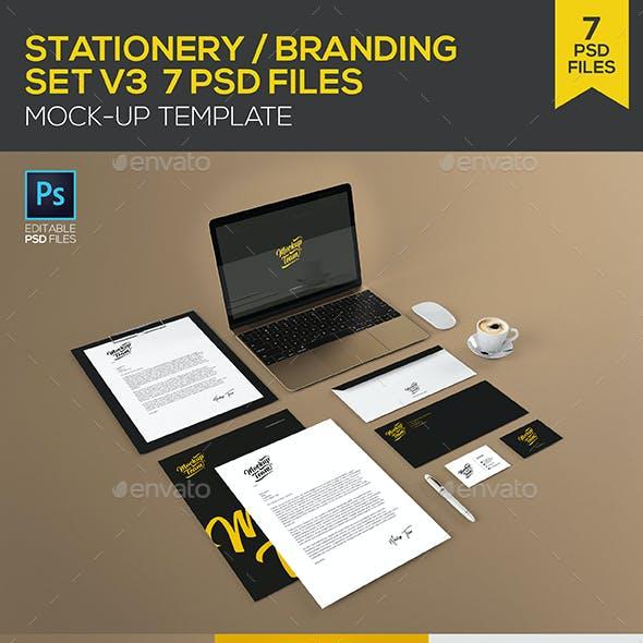 Branding - Identity set V3 Mock-up Template