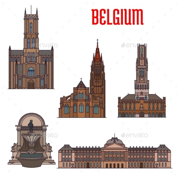 Historic Buildings And Architecture Of Belgium