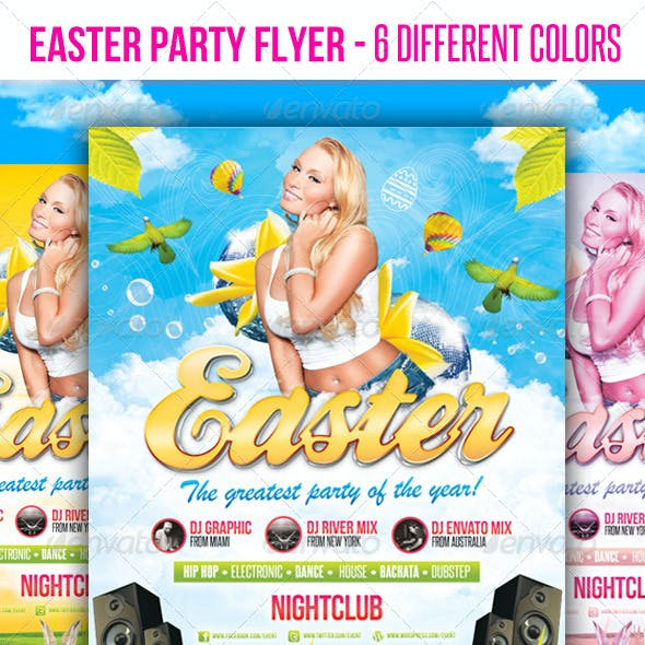 Easter Party - Flyer Template