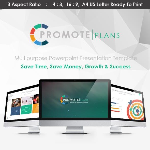 PROMOTE PLANS - Powerpoint Presentation Template
