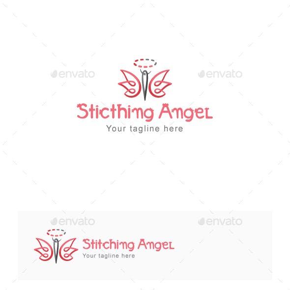 Stitching Angel - Stock Logo Template