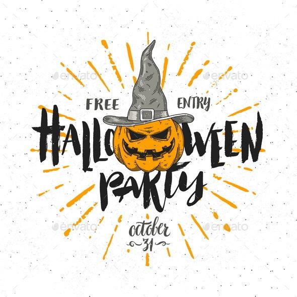 Halloween Party Invitation - Halloween Seasons/Holidays