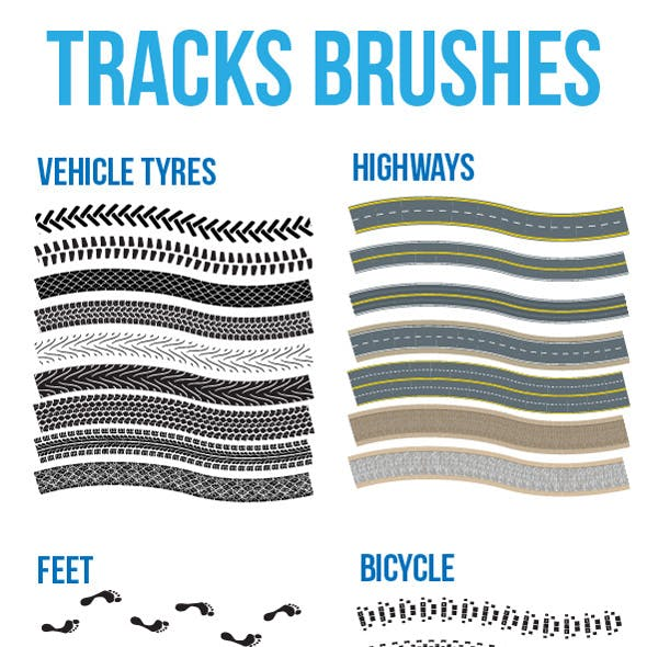 Tracks Brushes
