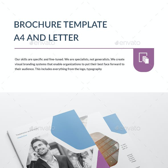Brochure Template  A4 and Letter