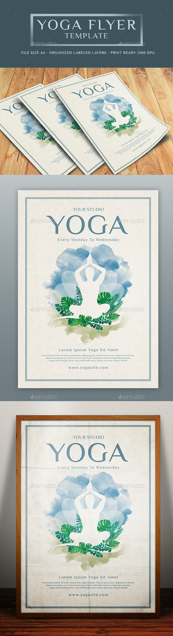 Yoga Flyer Template - Sports Events