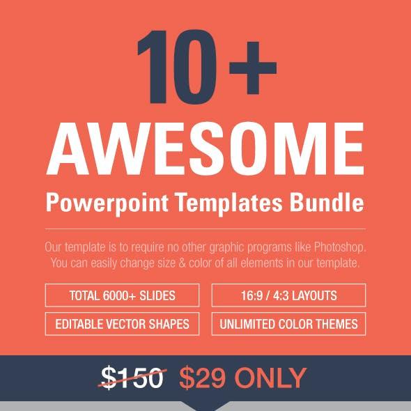 10 Powerpoint Templates Bundle
