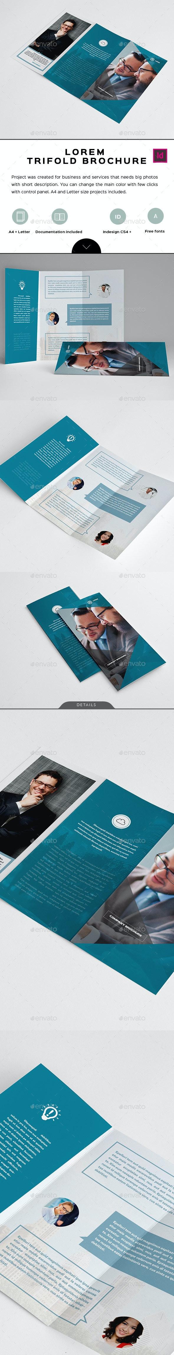 Lorem Trifold Brochure - Corporate Brochures