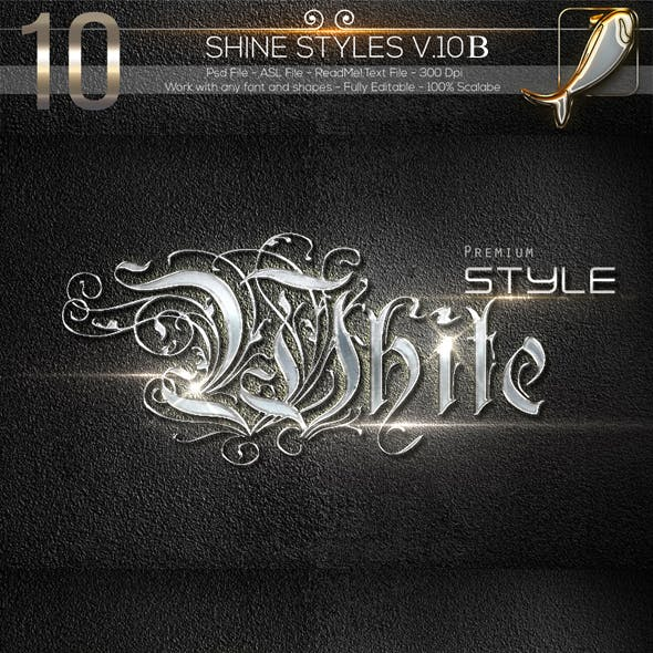 10 Shine Styles V.10B