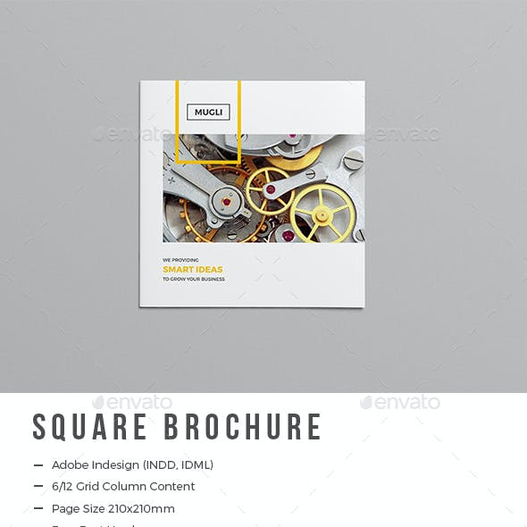 The Square Brochure