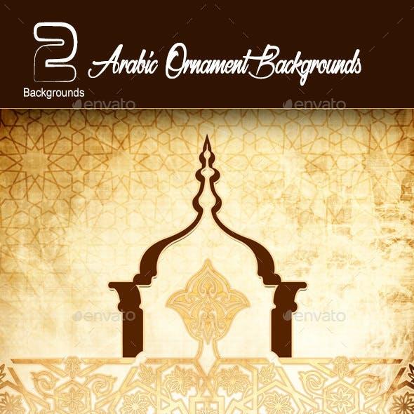 Arabic Ornament Background