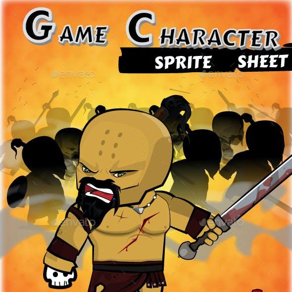 The Barbarian - Game Character Spritesheet