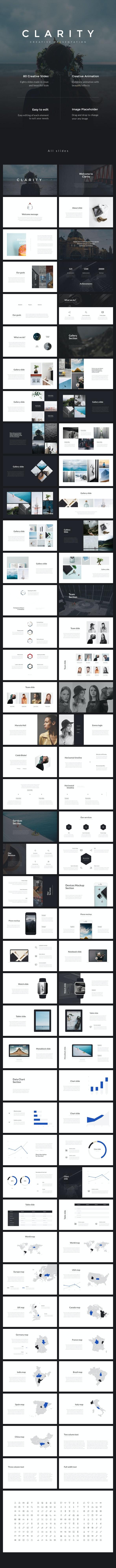 Clarity PowerPoint Presentation - PowerPoint Templates Presentation Templates