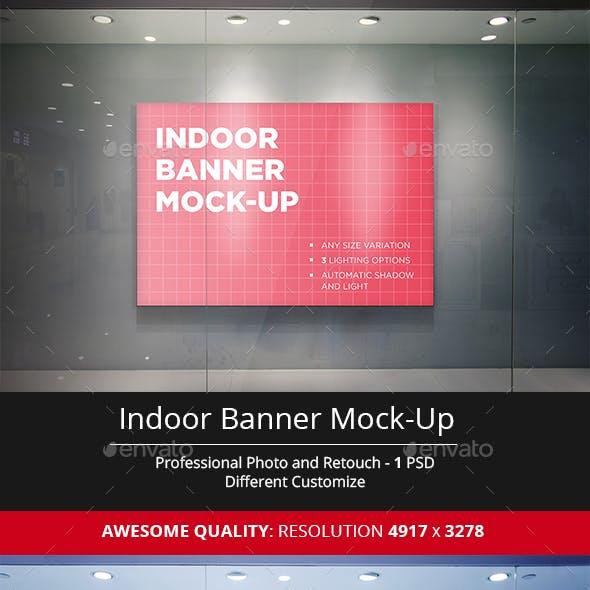 Indoor Banner Mock-Up
