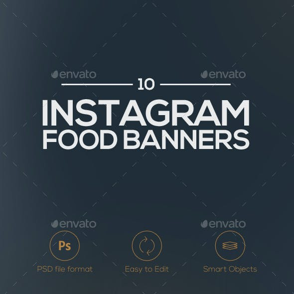 10 Food Banners