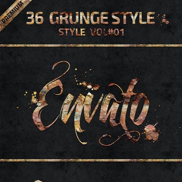 36 Grunge Style Vol 01