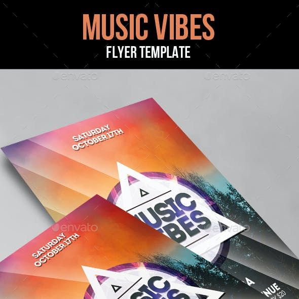 Music Vibes Flyer