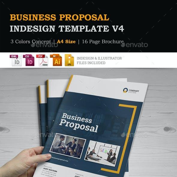 Business Proposal InDesign Template v4