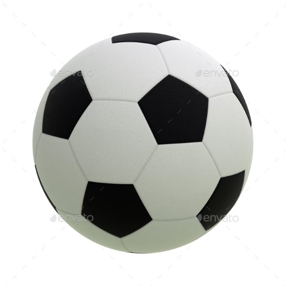 Soccer Ball 3D Render
