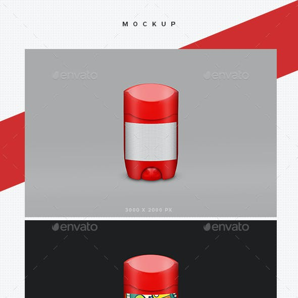 Antiperspirant Deodorant Mockups