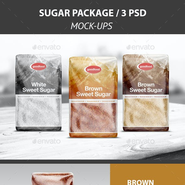 Sugar Package Mock-Up