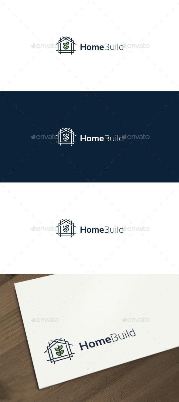 Home Building - Construction Logo - Buildings Logo Templates