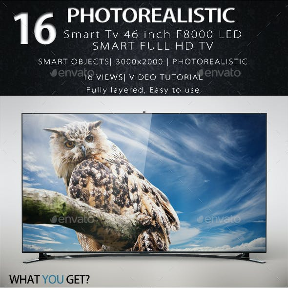 Smart Tv 46 Inch F8000 LED Full HD