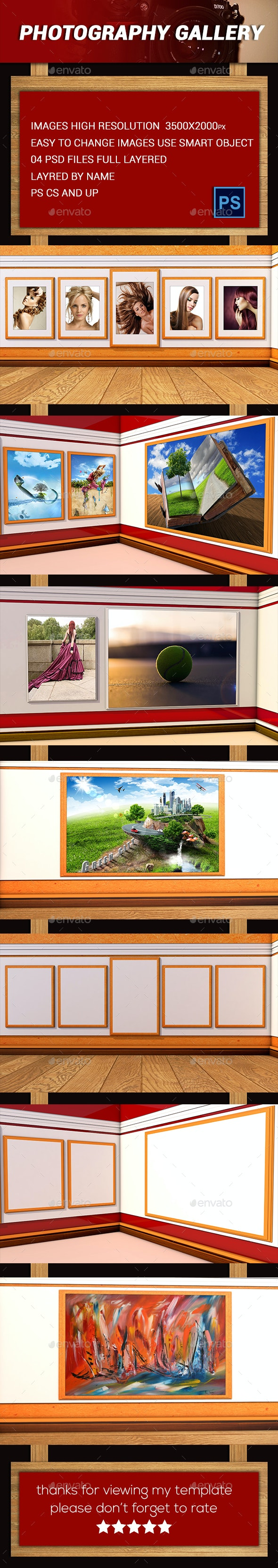 Photography Gallery - Photo Templates Graphics