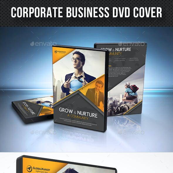 Corporate Business DVD Cover Template V08