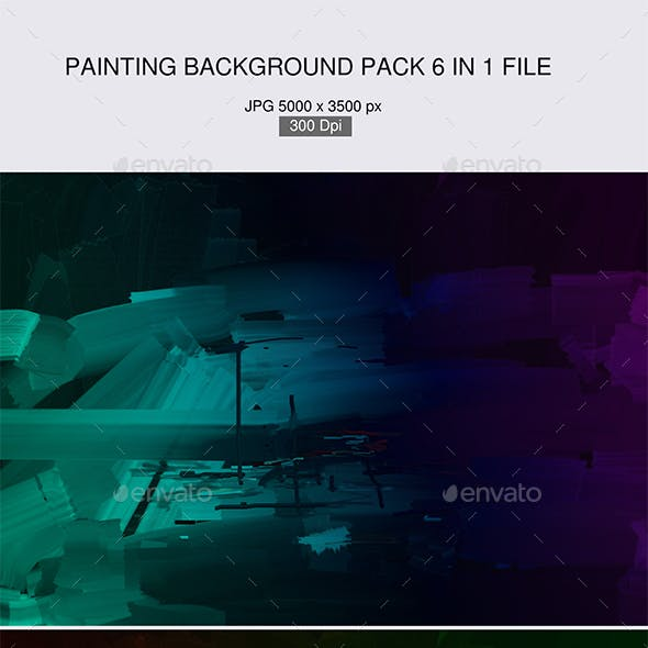 Painting Background Textures 6 in 1 file