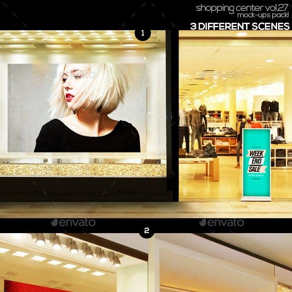 Shopping Center Vol.27 Mock Ups Pack