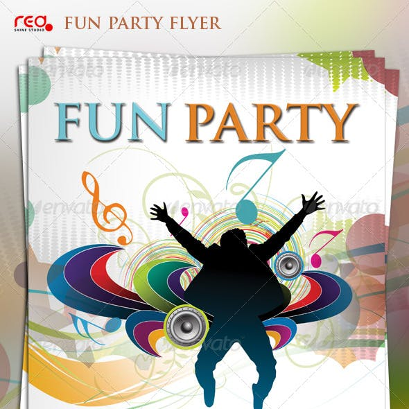 Beautiful Music Party Poster/Flyer Template