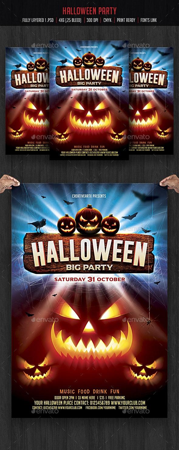 Halloween Flyer - Events Flyers